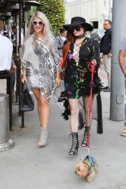 Sophia Vegas and Phoebe Price Out for Lunch in Beverly Hills 2018/05/20 8
