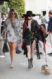 Sophia Vegas and Phoebe Price Out for Lunch in Beverly Hills 2018/05/20 13