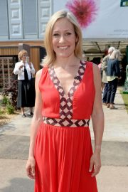 Sophie Raworth at Chelsea Flower Show in London 2018/05/21 10