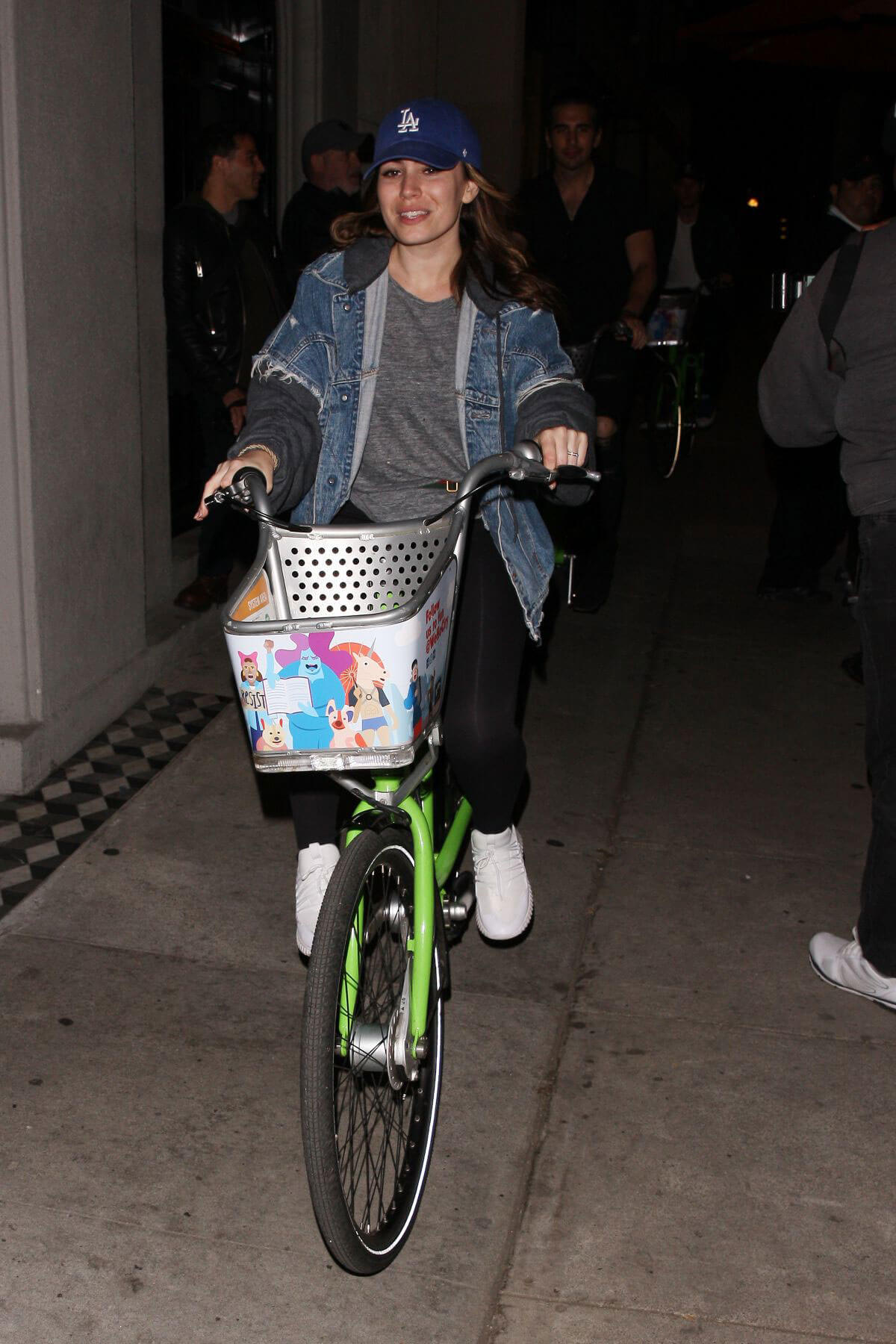 Sophie Simmons at a Bike Ride in West Hollywood 2018/05/27 1