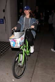 Sophie Simmons at a Bike Ride in West Hollywood 2018/05/27 3