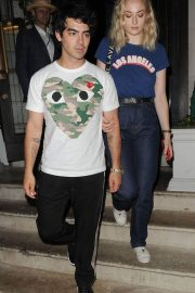 Sophie Turner and Joe Jonas at 34 Mayfair in London 2018/07/14 7