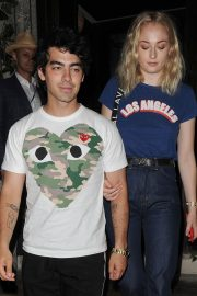 Sophie Turner and Joe Jonas at 34 Mayfair in London 2018/07/14 10