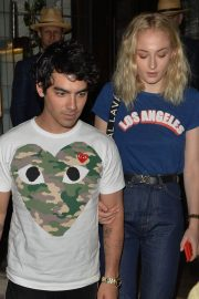 Sophie Turner and Joe Jonas at 34 Mayfair in London 2018/07/14 13