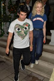 Sophie Turner and Joe Jonas at 34 Mayfair in London 2018/07/14 14