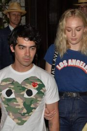 Sophie Turner and Joe Jonas at 34 Mayfair in London 2018/07/14 16