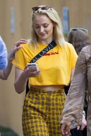 Sophie Turner Out and About in London 2018/07/16 7