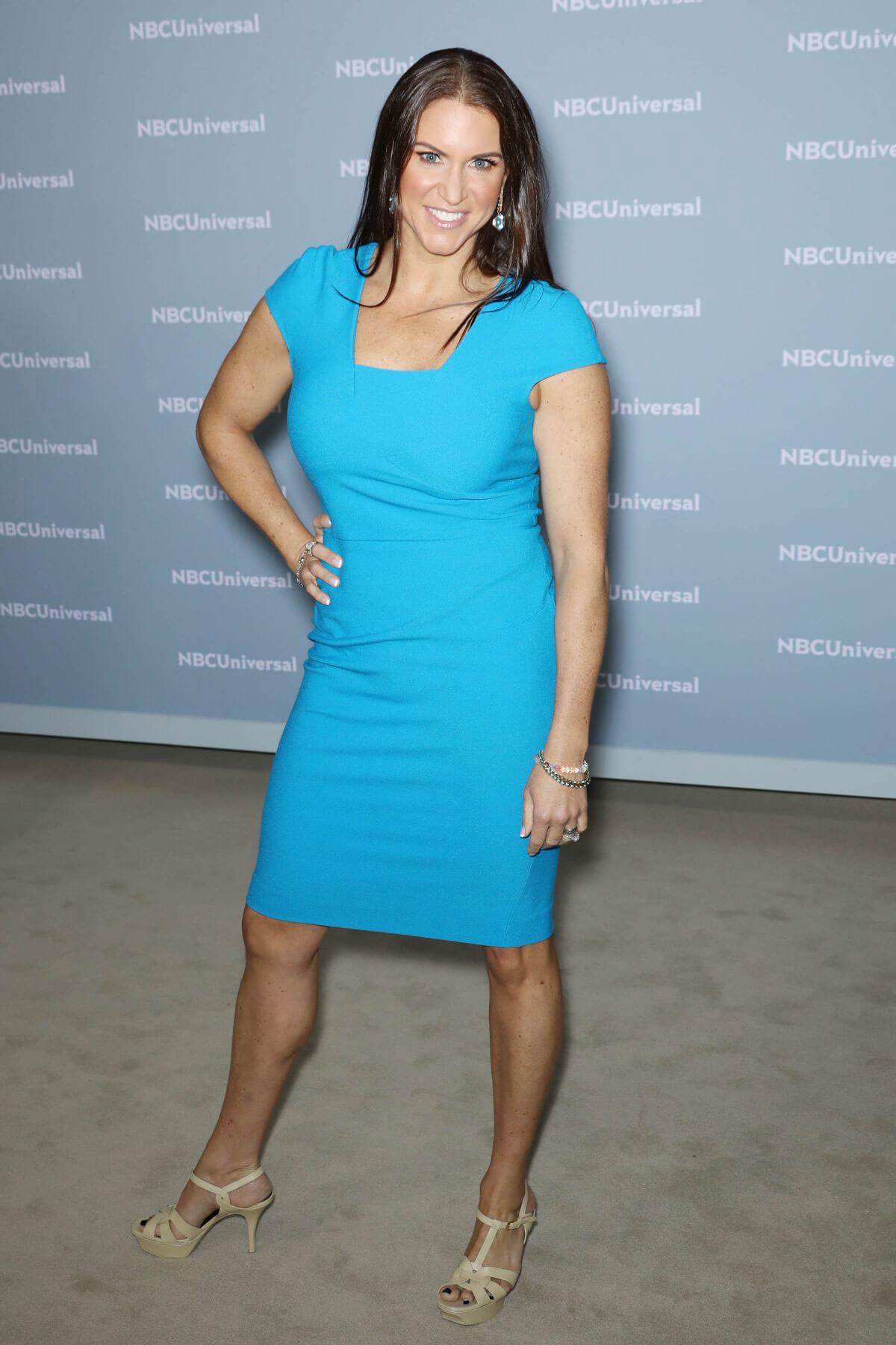 Stephanie McMahon at NBCUniversal Upfront Presentation in New York 2018/05/14 1