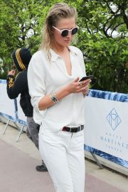 Toni Garrn Out and About in Cannes 2018/05/16 4