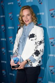 Uma Thurman at broadway.com Audience Choice Awards Winners Cocktail Party in New York 2018/05/24 1