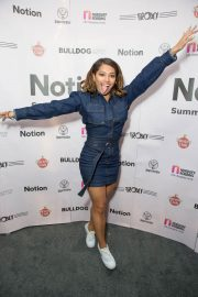 Vanessa White at Notion Magazine Summer Party 2018 in London 2018/07/27 2