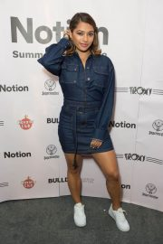 Vanessa White at Notion Magazine Summer Party 2018 in London 2018/07/27 4