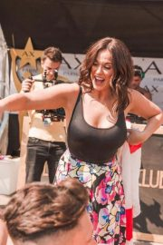 Vicky Pattison at BH Mallorca Hotel Pool Party 2018/07/13 2