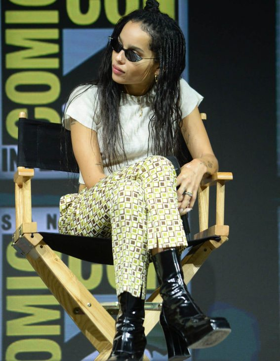 Zoe Kravitz at Warner Bros. Panel at Comic-con in San Diego 2018/07/21 1