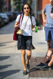 Zoe Kravitz Out and About in New York 2018/05/26 1