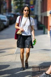 Zoe Kravitz Out and About in New York 2018/05/26 6