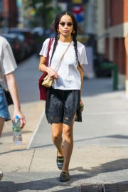 Zoe Kravitz Out and About in New York 2018/05/26 8