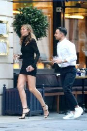 Abbey Clancy Out and About in London 2018/08/14 1