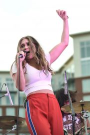 Abby Anderson Performs at BFI Rooftop on the Row in Nashville 2018/08/21 1