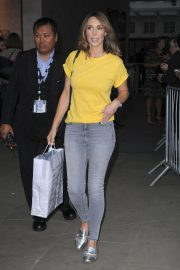 Alex Jones Leaves The One Show in London 2018/08/17 2