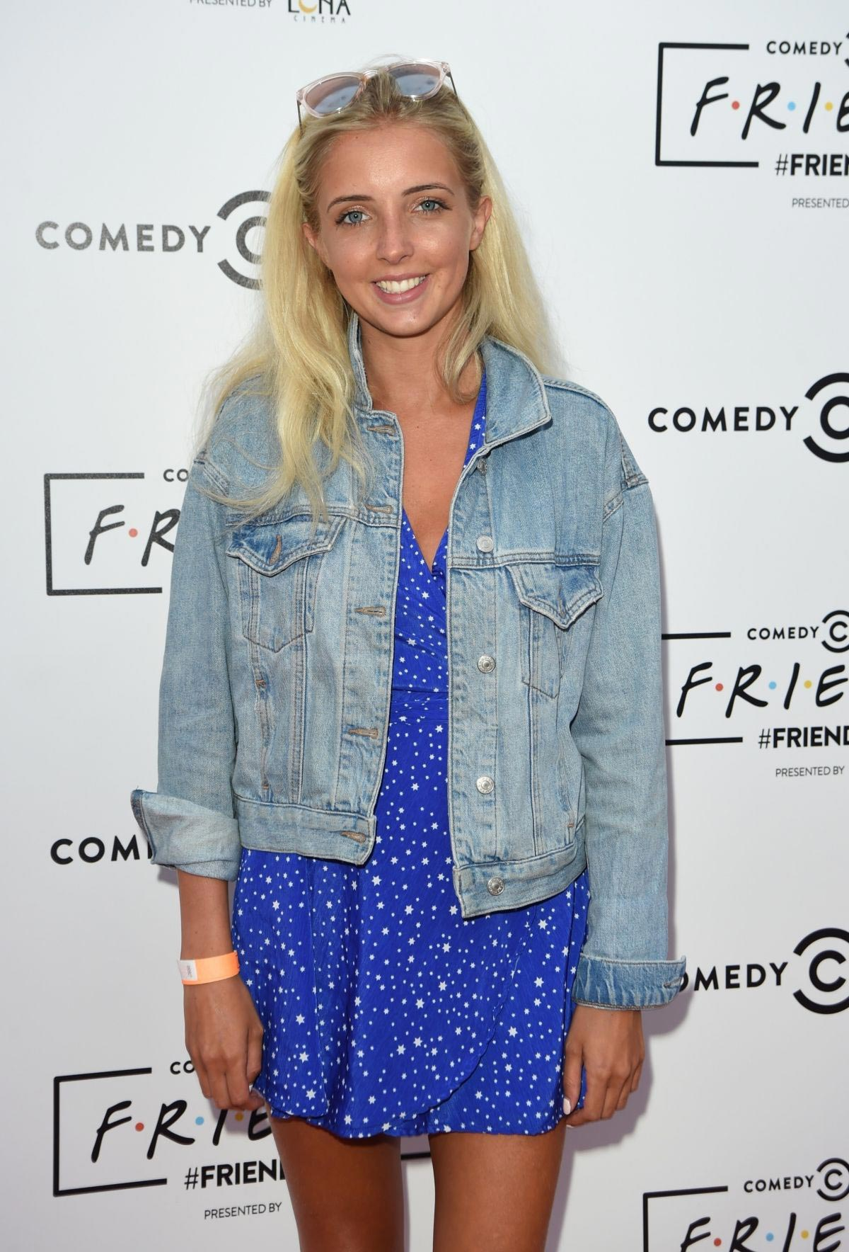 Alice Barlow at Comedy Central's Friendsfest in Manchester 2018/08/07 1