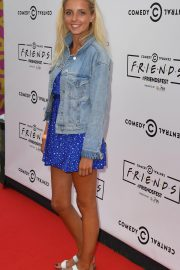Alice Barlow at Comedy Central's Friendsfest in Manchester 2018/08/07 2
