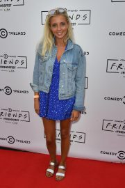Alice Barlow at Comedy Central's Friendsfest in Manchester 2018/08/07 6