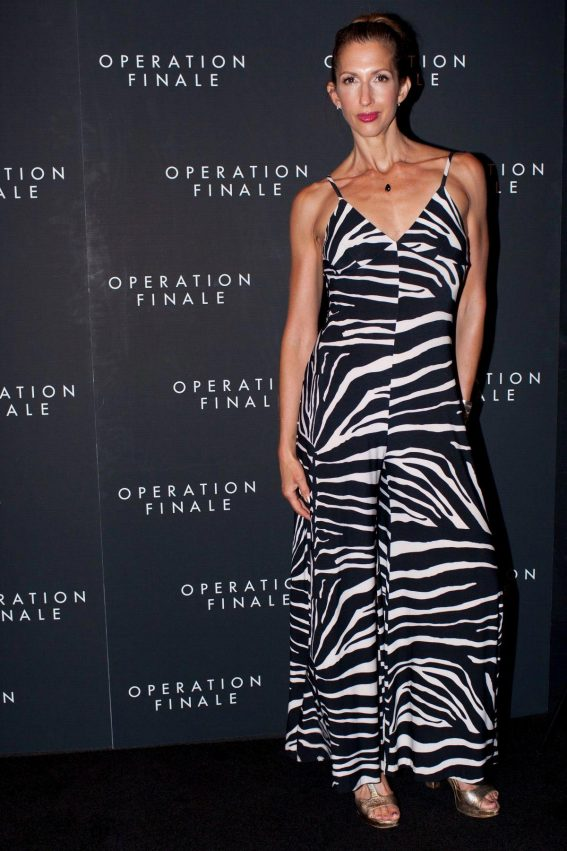 Alysia Reiner at Operation Finale Premiere in New York 2018/08/16 1