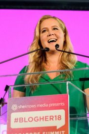 Amy Schumer at #blogher Creators Summit in New York 2018/08/08 2