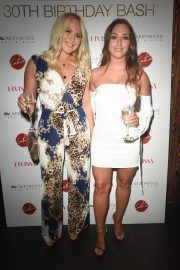 Amy Walsh at Thomas Twins 30th Birthday Party in Manchester 2018/08/11 1