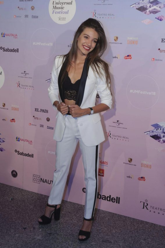 Ana Guerra at Universal Music Festival 2018 Concert in Madrid 2018/07/31 1