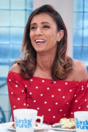 Anita Rani at Sunday Brunch Show in London 2018/08/12 10