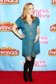 Annie Wersching at Waitress National Tour at Hollywood Pantages Theatre 2018/08/03 2