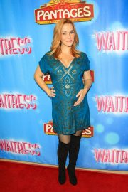 Annie Wersching at Waitress National Tour at Hollywood Pantages Theatre 2018/08/03 4