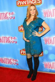 Annie Wersching at Waitress National Tour at Hollywood Pantages Theatre 2018/08/03 6