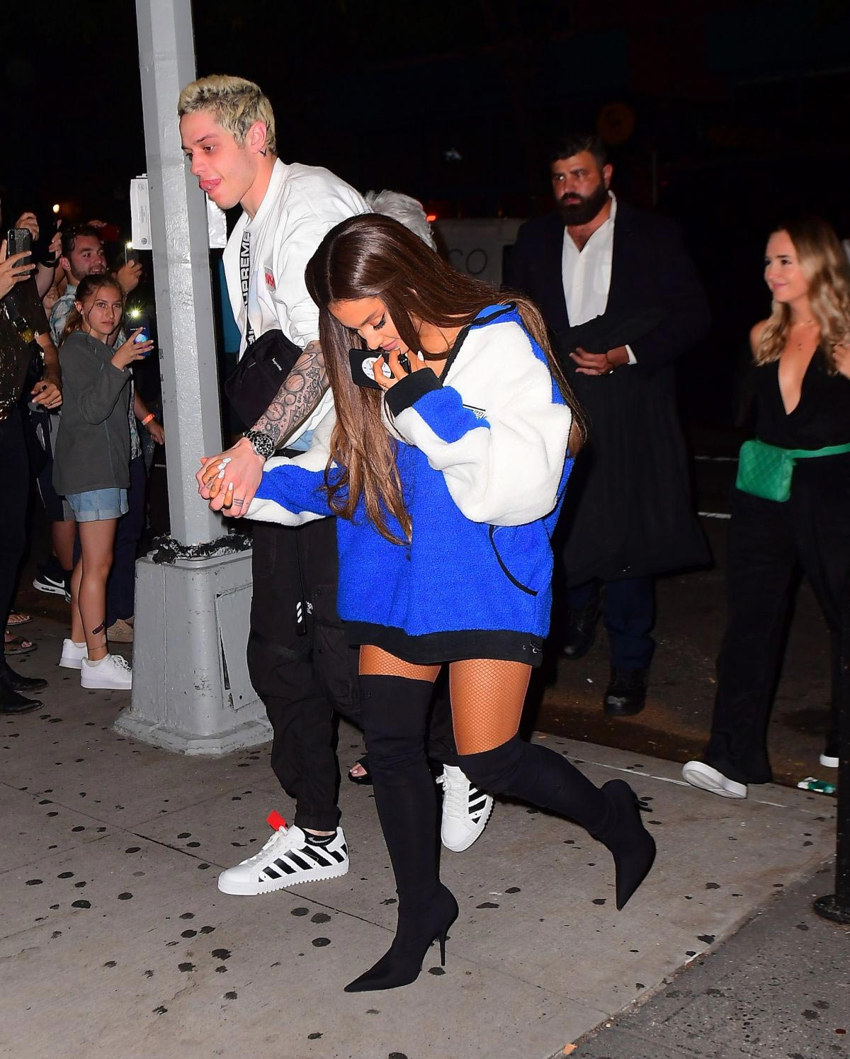 Ariana Grande and Pete Davidson at VMA After-party Concert in New York 2018/08/20 1