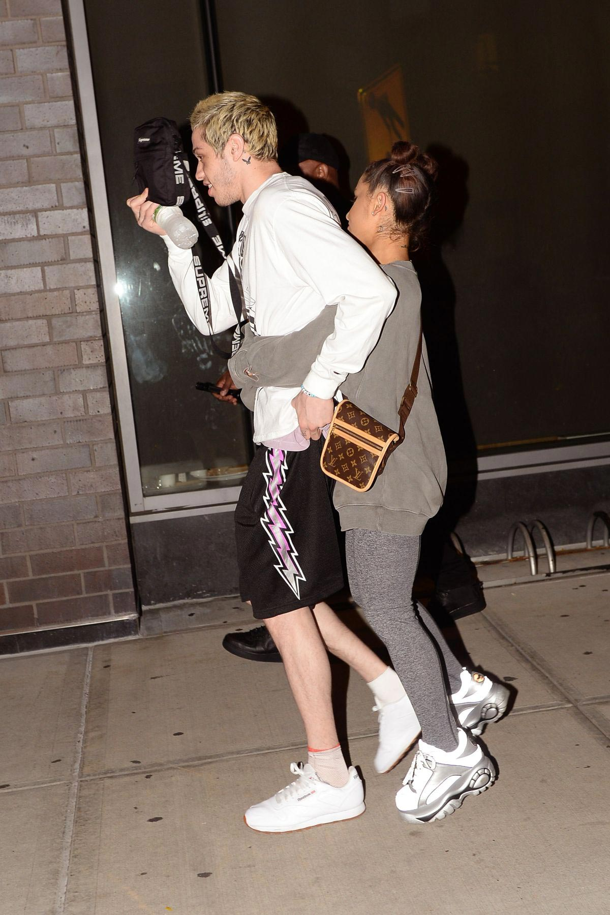 Ariana Grande and Pete Davidson Night Out in New York 2018/08/27 1