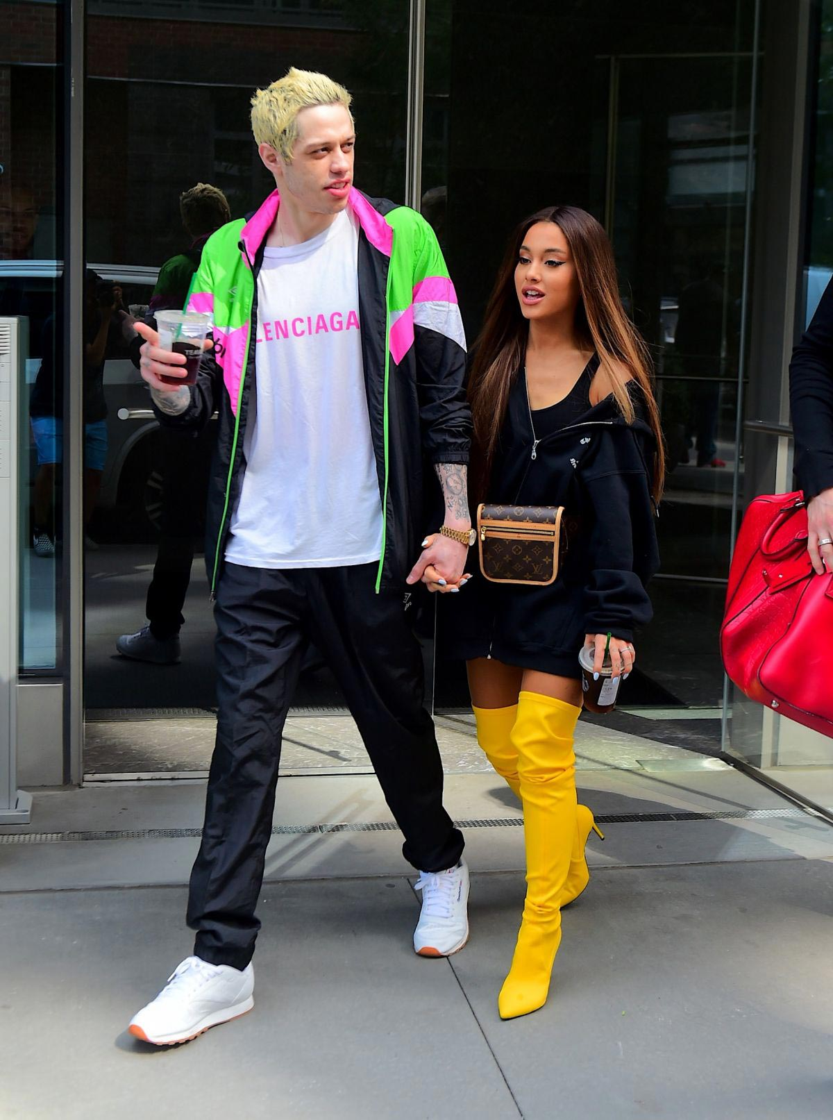 Ariana Grande and Pete Davidson Out in New York 2018/08/18 1