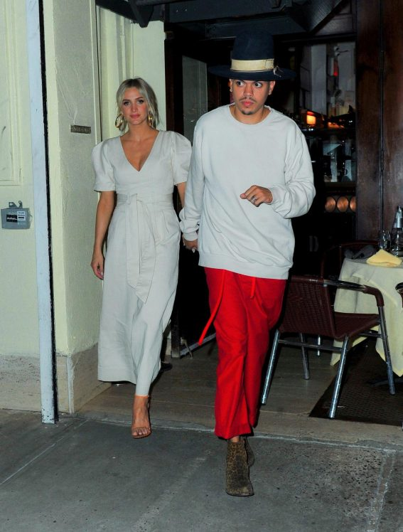 Ashlee Simpson and Even Ross Night Out in New York 2018/08/15 1