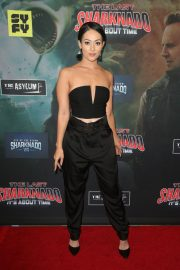 Ashley Doris at The Last Sharknado: It's About Time Premiere in Los Angeles 2018/08/19 3