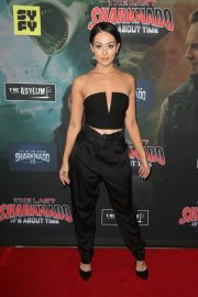 Ashley Doris at The Last Sharknado: It's About Time Premiere in Los Angeles 2018/08/19 7