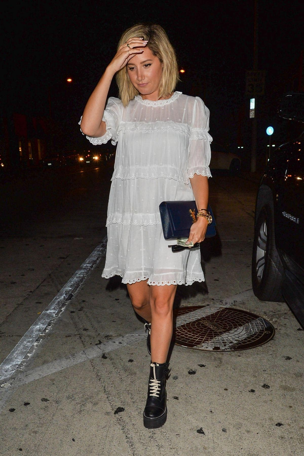 Ashley tisdale out in los angeles new picture