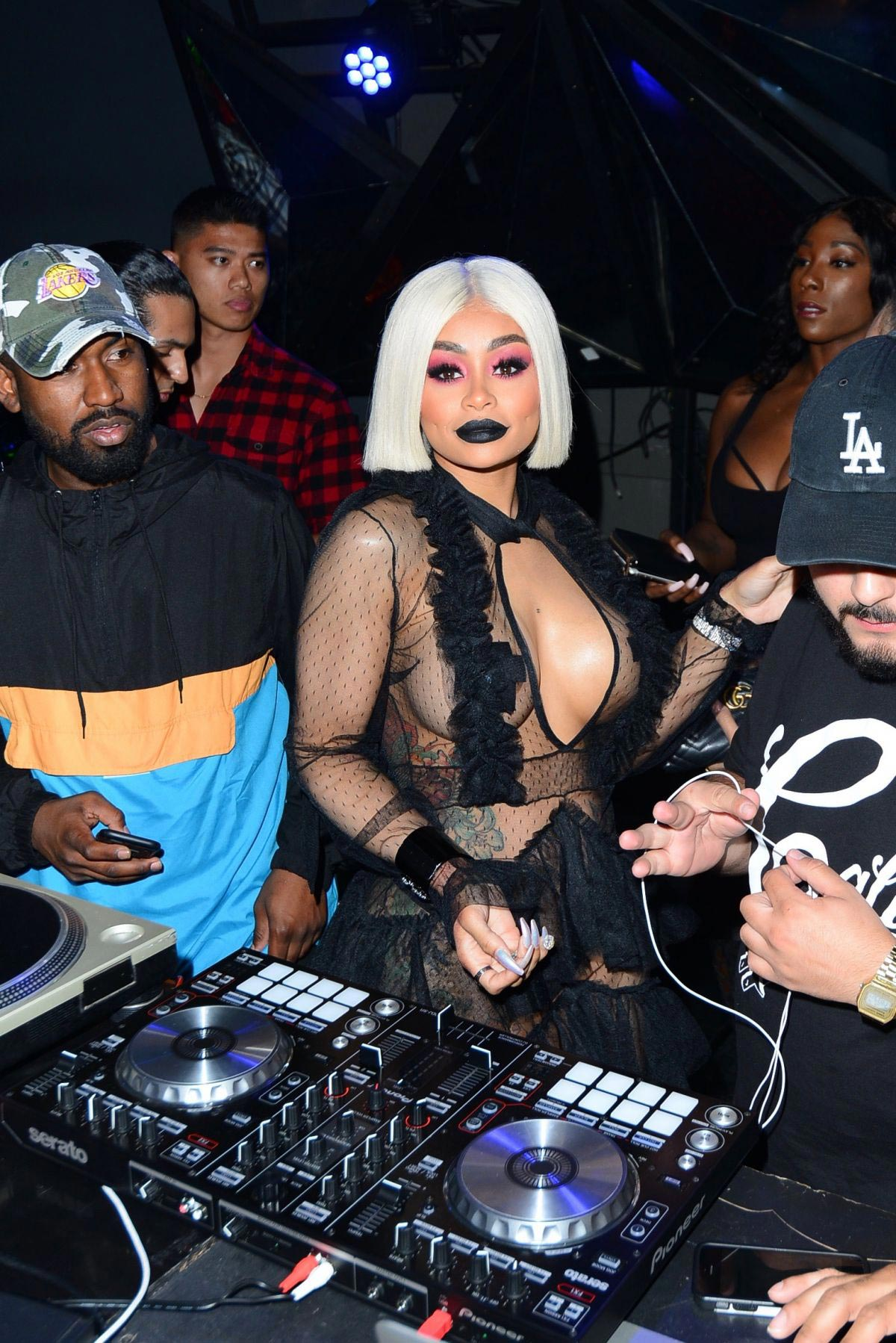 Blac Chyna Arrives at Project Club in Los Angeles 2018/08/15 1