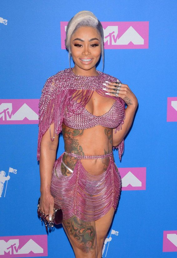 Blac Chyna at MTV Video Music Awards in New York 2018/08/20 1