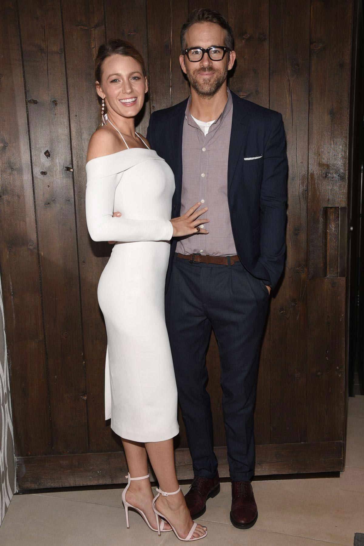Blake Lively and Ryan Reynolds Celebrate His First Employee Orientation as Owner of Aviation Gin 2018/08/07 1