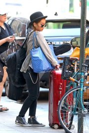 Brenda Song Out and About in New York 2018/08/26 1