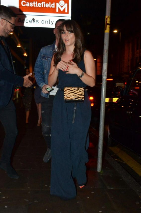 Brooke Vincent Arrives at Thomas Twins 30th Birthday Party in Manchester 2018/08/11 1