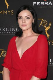 Cait Fairbanks at Television Academy Daytime Peer Group Emmy Celebration in Los Angeles 2018/08/22 10