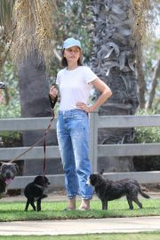 Calista Flockhart Out with Her Dogs in Santa Monica 2018/08/20 7