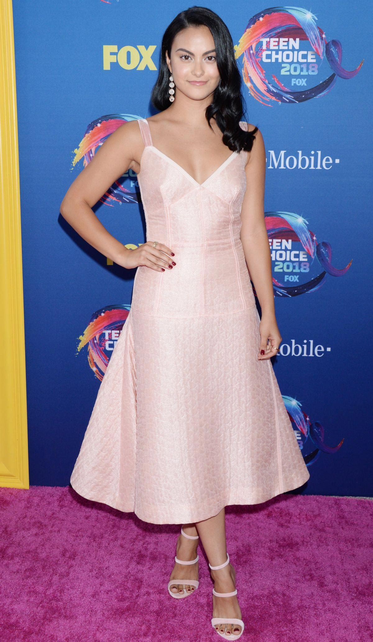 Camila Mendes at 2018 Teen Choice Awards in Beverly Hills 2018/08/12 1